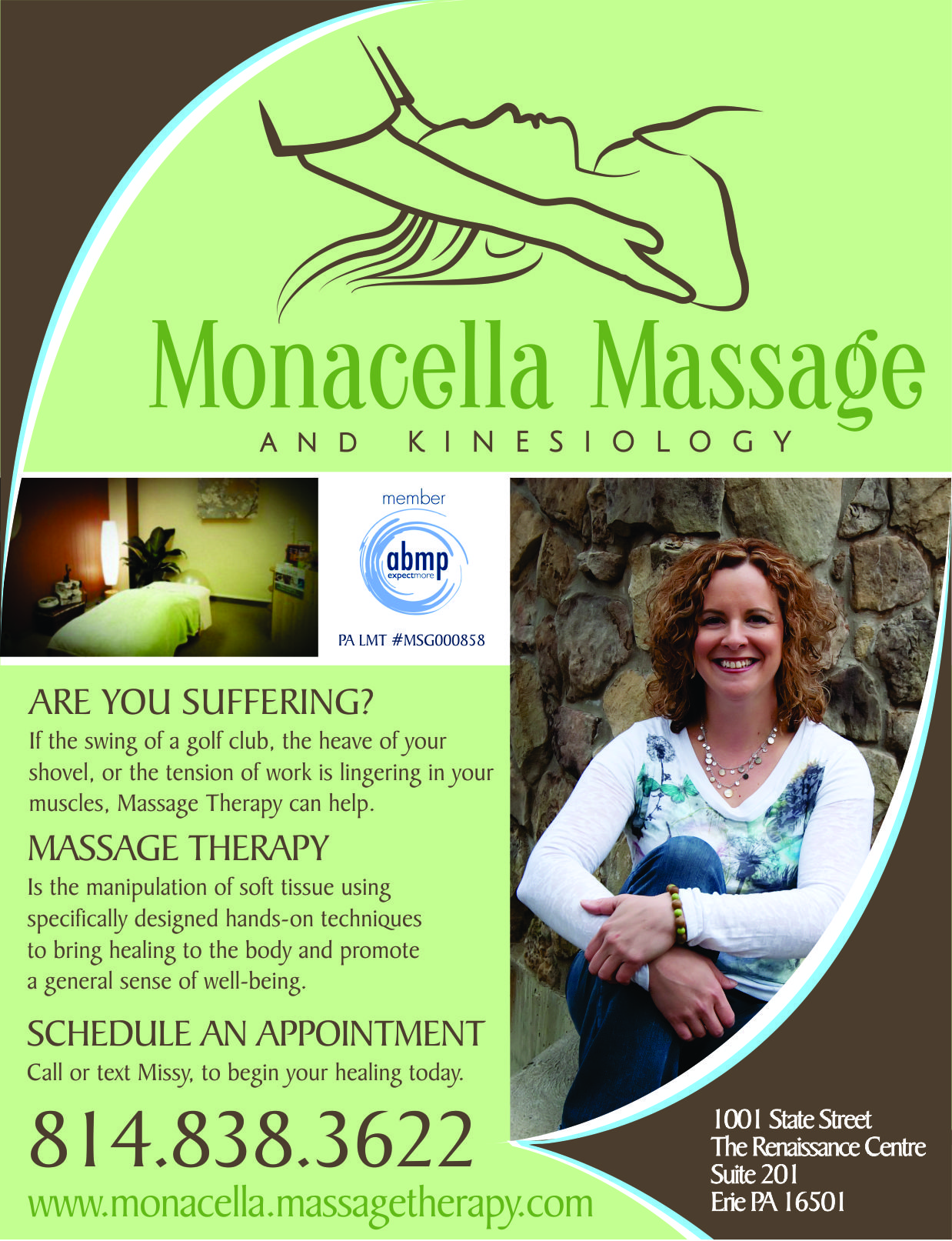 Monacella Massage & Kinesiology